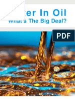 Water in Oil Whats the Big Deal
