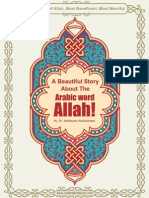 Beautiful Story About Word Allah