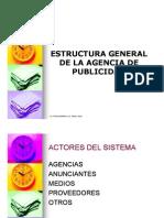 Estructura de La Agencia y Foda Abril 2012