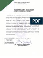MANUAL DE ORGANIZACIÓN-DCyC-autorizado 6 feb-13