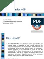 4.- Direccionamiento IP
