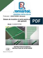 Climasystem-Montaj,intretinere
