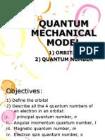 Quantum Mechanichal Model2