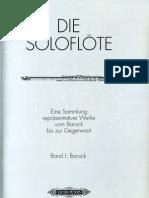 Flute-Solo Band I (Barock)