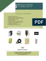 Catalogo Electrico Control