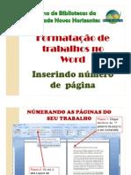 Formatação de trabalhos acadêmicos - Paginação (1)