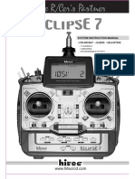 Hitec Eclipse 7 Transmitter Manual