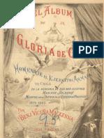 Guerra del Pacifico, Album de La Gloria de Chile, Tomo 1, B.V.Mackenna, 1883