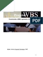 Artigo - Escopo - WBS Para o Cronograma