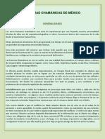 ESENCIAS CHAMÁNICAS DEFINICIONES