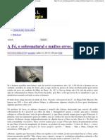 A Fé, o sobrenatural e muitos erros… _ Portal da Teologia.pdf