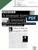 Monday 1 May 2006 - Classic FM Magazine