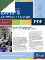 DMPS Community Report - August 2013
