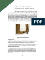 Advanced Decoration Technology for Aluminum
