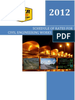 SOR Civil Engineering Works 2012