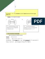 Funciones, Materia y Ejercicios