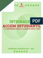 "Programa Lista-B! ""Integración"" Acción Estudiantil"