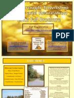 Fall 2013 Program Brochure