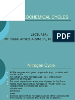 Bio Geo Chemical Cycles