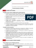 FEADR 123 Procesare Agricola