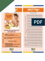 Plans Leaflets Marathi 2012