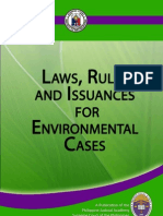 Laws Rules and Issuances for Environmental Cases