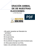 Nina Rosa Jacob - Liberación Animal Depende de Nuestras Elecciones