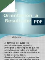 Curso  orientación a resultados
