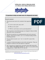 CASP Diagnostic Appraisal Checklist 14oct10