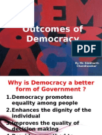 Outcomes of Democracy