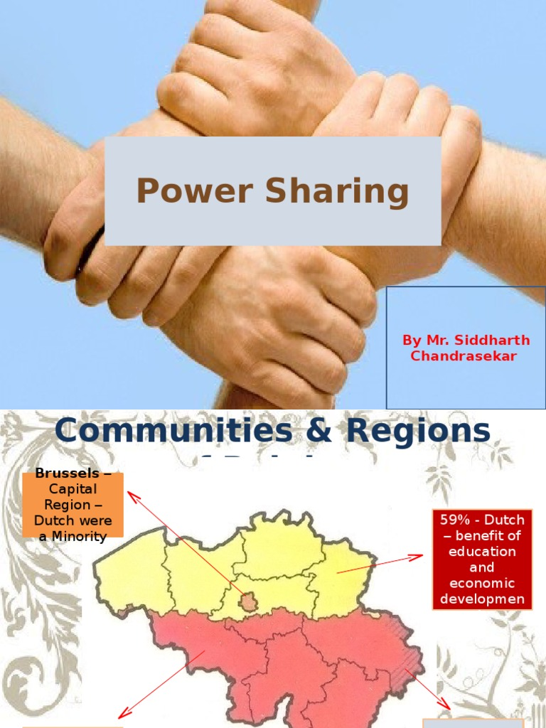 essay on power sharing in belgium Gender egalitarianism future orientation power distance  introduction to the globe research project on leadership worldwide.
