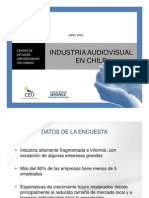 Industria Audiovisual en Chile 1023175529216306405