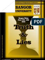 Truth and Lies Full Program 2009