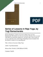A Series of Lessons in Raja Yoga by Yogi Ramacharaka