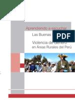 GIZ - Aprendiendo a Escuchar-Las Buenas prácticas contra la violencia de género en áreas rurales del Perú