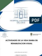 Actividades de La Vida Diaria en Rehabilitacion Visual