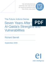 Seven Years After 911 Al-Qaidas Strengths and Vulnerabilities by Richard Barrett