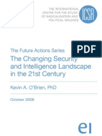 The Changing Security and Intelligence Landscape in the 21st Century by Kevin O'Brien