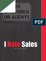 I Hate Sales by Noah Rickun