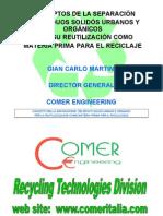 Clasificación mecánica - manual