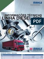 Mahle Tabela de Parede Linha Diesel 2012-2
