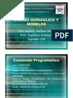 Diseño Hidraulico y Modelos