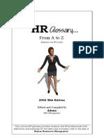 HR Glossary by Adnan
