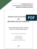 Apostila de Microbiologia de AlimentosEliana Kamimura