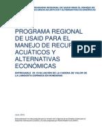 EVALUACIÓN DE LA CADENA DE VALOR DE LA LANGOSTA ESPINOSA EN HONDURAS