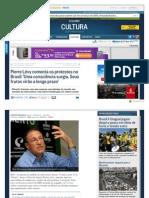 Oglobo Globo Com Cultura Pierre Levy Comenta Os Protestos No Brasil Uma Conscien