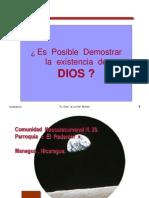 Las  Cinco  Vías Demonstraciòn  de la  Existencia  de  Dios   Santo  Tomas