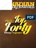 Canadian Mining Journal August 2013