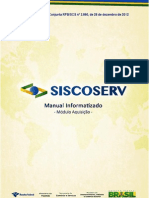 Manual Siscoserv