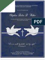 Adventist Chaplaincy Ministries Commissioning Program